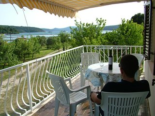 Beachfront apartment-great balcony views - Slano vacation rentals
