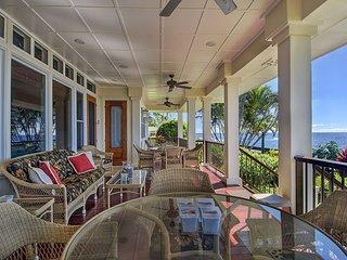 Honu La'e - 4 Bedroom, 4 Bath Ocean Front Vacation Home in Poipu - Koloa vacation rentals