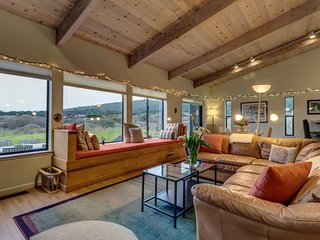 Private hot tub, shared pool, and ocean views at this peaceful Sea Ranch home! - Sea Ranch vacation rentals