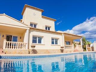 5 bedroom Villa in Calpe, Spain : ref 2096110 - La Llobella vacation rentals