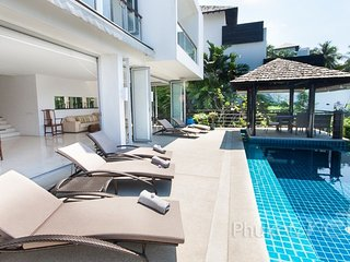 Modern 3-Bed Sea View Villa in Surin - Surin Beach vacation rentals