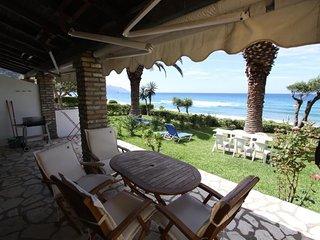 Beachfront house 49 in Glyfada sandy beach of Corfu - Glyfada vacation rentals