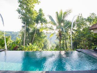 Secluded Escape for a Couple with Spectacular Panoramic Views - Ubud vacation rentals