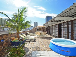 Excellent Penthouse Four Bedrooms One Block from the Beach #406 Q406 - Rio de Janeiro vacation rentals