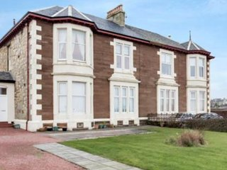 Sea view apartment overlooking the sand beach . - Ardrossan vacation rentals