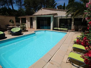 Villa for 12 p. La Destrousse, Bouches-du-Rhône, private pool - La Destrousse vacation rentals