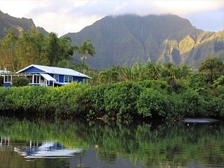 BE IN Hanalei & ON THE RIVER for a classic Kauai Experience! TVNC#4346 - Hanalei vacation rentals