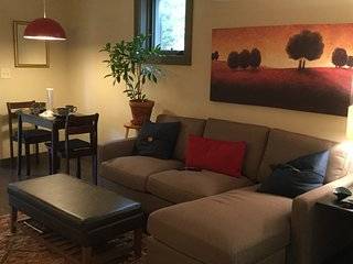 Stylish Comfort 600 sq ft sanctuary, private patio, off st pkg, near everything - Asheville vacation rentals