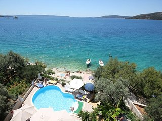 TOP LOCATION! SEA FRONT Nr Trogir Apartment tip 2+1 - Seget Vranjica vacation rentals