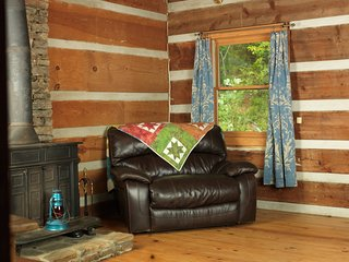 Rustic, Real Log Cabin Mountain Getaway - Suches vacation rentals