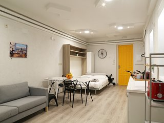 The Green Urban Loft - ecofriendly 5 star downtown apartment - Wifi + Free Bikes - Madrid vacation rentals