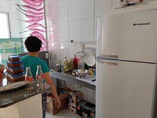 Apartamento 2 Quartos,todo mobiliado,com agua,luz,gas..tudo novinho.,a 500 metro - Jacaraipe vacation rentals