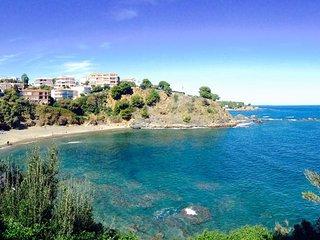 loue sudio 2 personnes de plain pied vue sur mer et montagne - Llanca vacation rentals