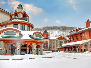 Ski-in/ski-out Powderhorn condo with shared hot tubs, a pool & gym! - Solitude vacation rentals