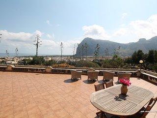 Villa Olimpo | Terrazza con splendida vista | Great Seaview - San Vito lo Capo vacation rentals