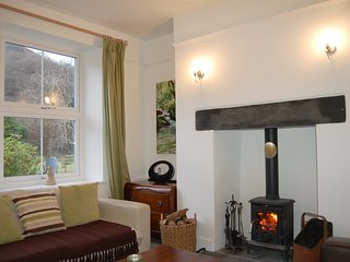 Lovely Cottage with Television and Water Views - Abergynolwyn vacation rentals