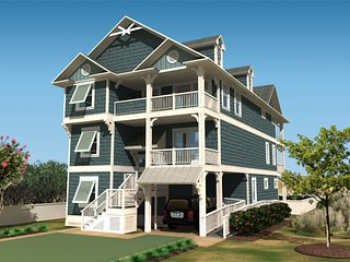 New Luxury Oceanfront Home w/ Beach Cabana - Nags Head vacation rentals