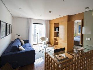 Beautiful 1 Bedroom Apartment in the Heart of Itaim Bibi - Sao Paulo vacation rentals
