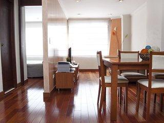 Modern 1 Bedroom Apartment in Virrey - Bogota vacation rentals