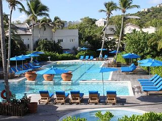 Two bedroom poolside apartment at Cotton Bay Village, St Lucia, Carribean - Cas En Bas vacation rentals