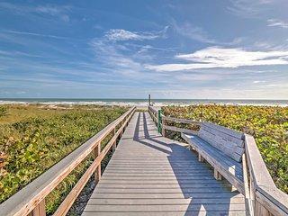 NEW! Beachfront 2BR Cape Canaveral Condo w/ Patio! - Cape Canaveral vacation rentals