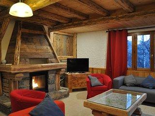 Chalet a la montagne pour 15 personnes tres convivial  avec une vue panoramique - Puy Saint Vincent vacation rentals