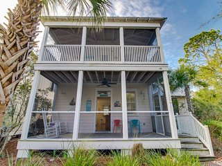 Coastal home w/ screened porch, shared pools/hot tub - snowbirds welcome! - Port Saint Joe vacation rentals