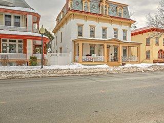 NEW! Historic 4BR Saratoga Springs Apartment! - Saratoga Springs vacation rentals