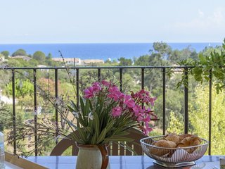 Albitru - House with 2 rooms in Favone, with wonderful sea view, furnished garden and WiFi - Favone vacation rentals