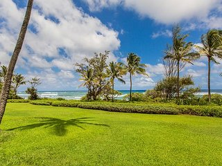 Kaha Lani Resort #125 Oceanfront, Steps to Beach, Enjoy Sunrise from Lanai - Lihue vacation rentals
