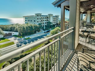 Gulf view condo at Waterhouse, rooftop pool and hot tub, across the street from beach access - Gulf Dreams at Waterhouse - Seacrest Beach vacation rentals