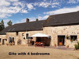 Farmhouse gite in rural Mayenne, France (4 bedrooms) - Villaines la Juhel vacation rentals