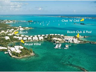 Spectacular Oceanfront Luxury Villa in Great Exuma - George Town vacation rentals