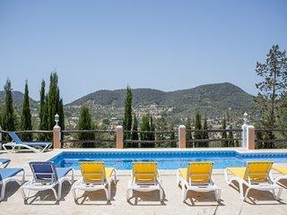 Villa with views, 15 minutes to Playa den Bossa - San Jose vacation rentals