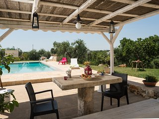Lovely Trullo with pool and view on countryside - Coreggia vacation rentals