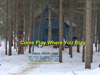 Private Cabin on 104 Acre Recreational Retreat - Sundridge vacation rentals