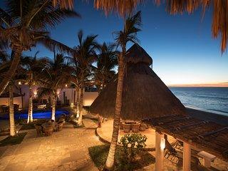 Private Beachfront Villa Pool and Jacuzzi inc. Concierge and Staff - San Jose Del Cabo vacation rentals