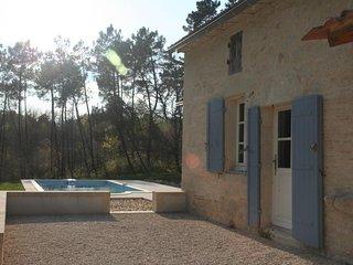 Maison de caractère en pierre avec piscine privée dans un cadre de verdure - Monfaucon vacation rentals