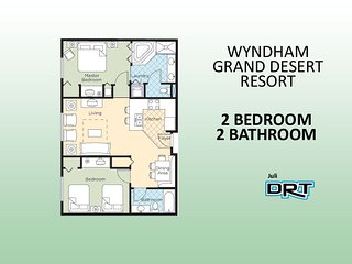 2Br Condo #1 Wyndham Grand Desert  Near Strip - Las Vegas vacation rentals