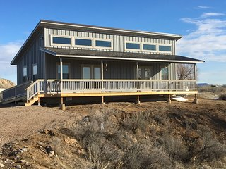 2 Sunny Efficiency Cabins and 2 RV sites - Cabins 1 and 2 Joined - Thermopolis vacation rentals