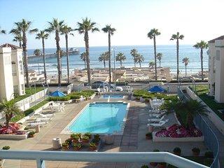 San Miguel IV Oceanside CA Pier Monthly Condo Vacation Rental Oceanfront View - Oceanside vacation rentals