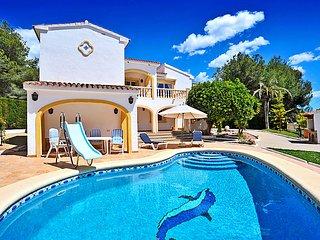 3 bedroom Villa in Moraira, Costa Blanca, Spain : ref 2253155 - La Llobella vacation rentals