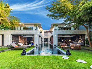 Modern large 5 Bed. Ultimate Luxury, fully staffed in prestigious Oberoi - Seminyak vacation rentals