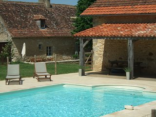 The Farmhouse at Rigal farm, pool, 100 acres, adult, children and animal heaven. - Bergerac vacation rentals