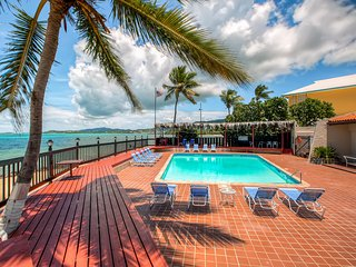 Lovely 3BR Christiansted Condo w/Wifi, 3 Private Decks & Sensational Ocean Views - Located Just 120 Feet Away From the Gorgeous Beach! - Christiansted vacation rentals