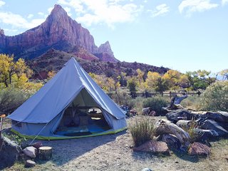 LUXURY TENTS at ZION WEST RANCH by MOONLIGHT OASIS-VIEWS of ZION! - Virgin vacation rentals