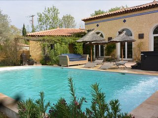 South of France - Beautiful house 4 bedrooms with private pool and spa - La Crau vacation rentals
