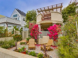 North MIssion Beach Spanish Villa just steps from the beach! - Pacific Beach vacation rentals