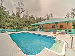 NEW! 2BR Pahoa House w/ Private Pool & Hot Tub! - Pahoa vacation rentals