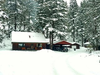 Luxurious log cabin getaway at White Pass - Naches vacation rentals